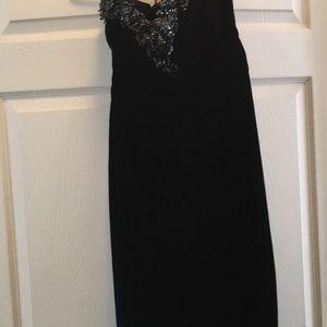 paul-louis orrier Parris Dresses - Paul-Louis Orrier couture black velvet Dress